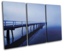 Pier Jetty Lake Sunset Seascape - 13-1434(00B)-TR32-LO